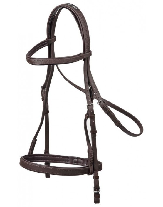 Zilco Training Bridle With Cavesson