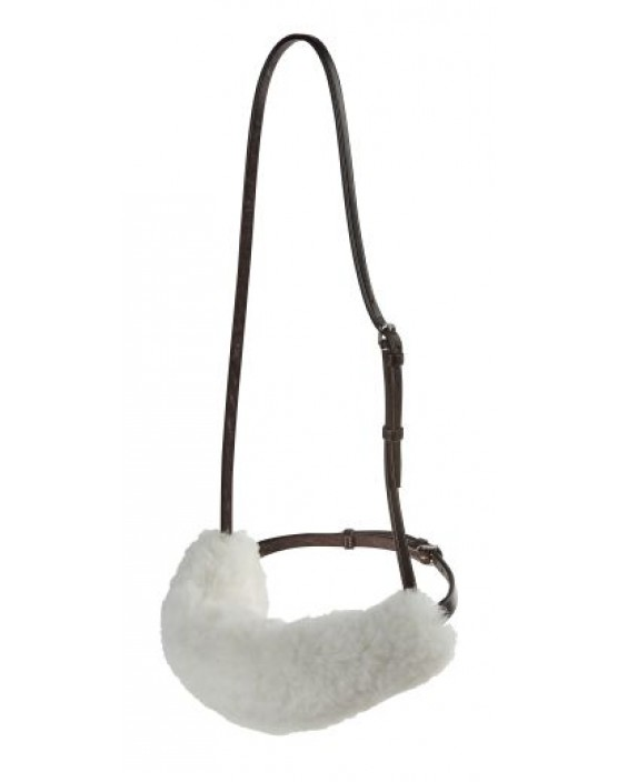 Real Sheepskin Noseband