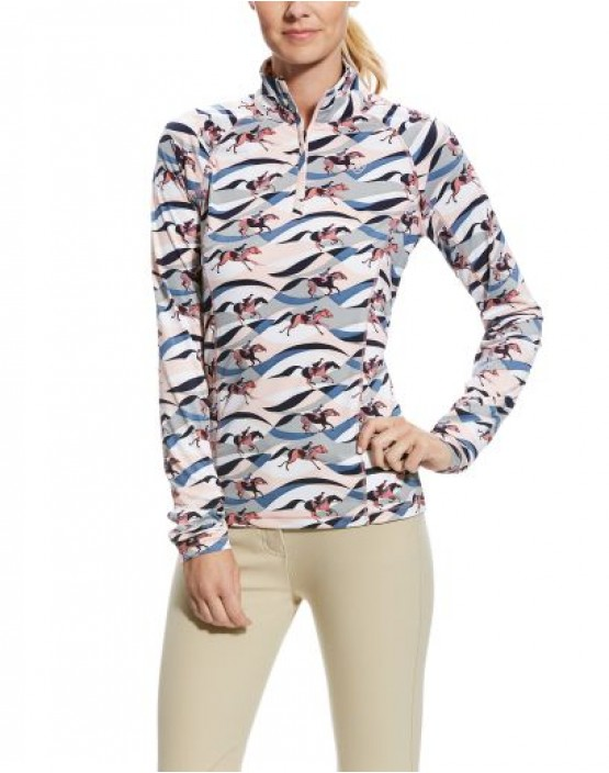 Ariat Lowell 2.0 1/4 Zip Patterned Baselayer