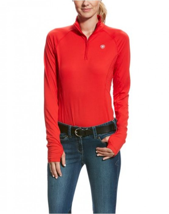Ariat Lowell 2.0 1/4 Zip Plain Baselayer