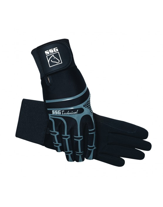SSG Technical Riding Gloves with Wrist Support
