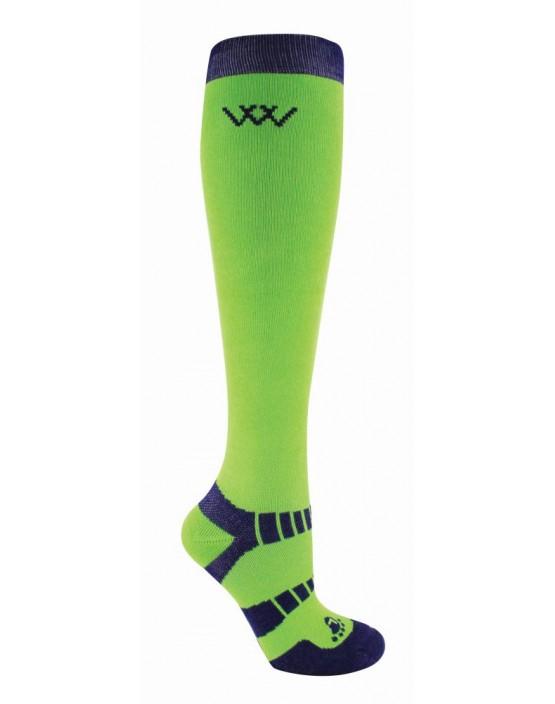 Woof Wear Waffle Knit Bamboo Long Socks