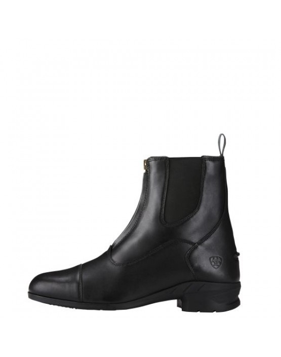 Ariat Mens Heritage IV Zip Paddock Boots Black