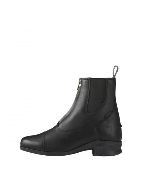 Ariat Womens Heritage IV Zip Paddock Boots Black