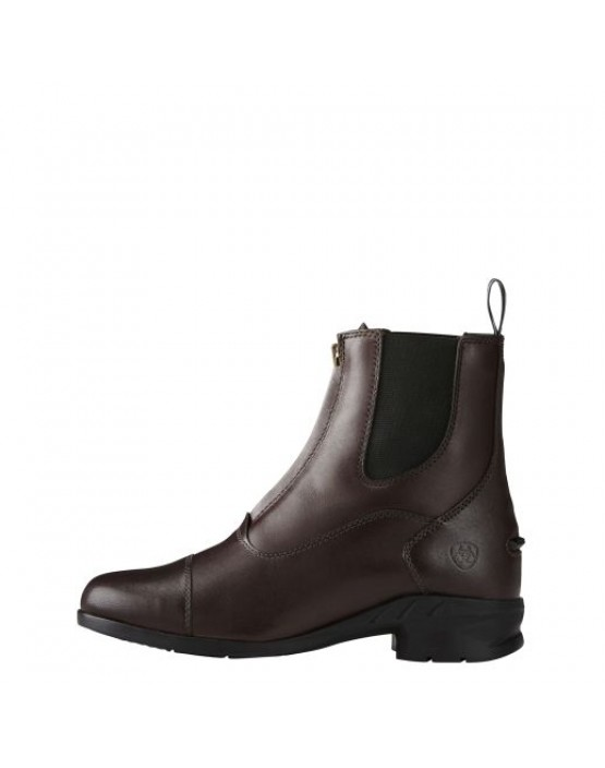 Ariat Womens Heritage IV Zip Paddock Boots Light Brown