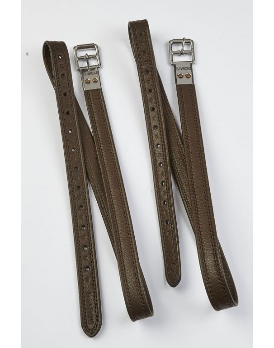 EJ Wicks Super Soft Non-Stretch Stirrup Leathers