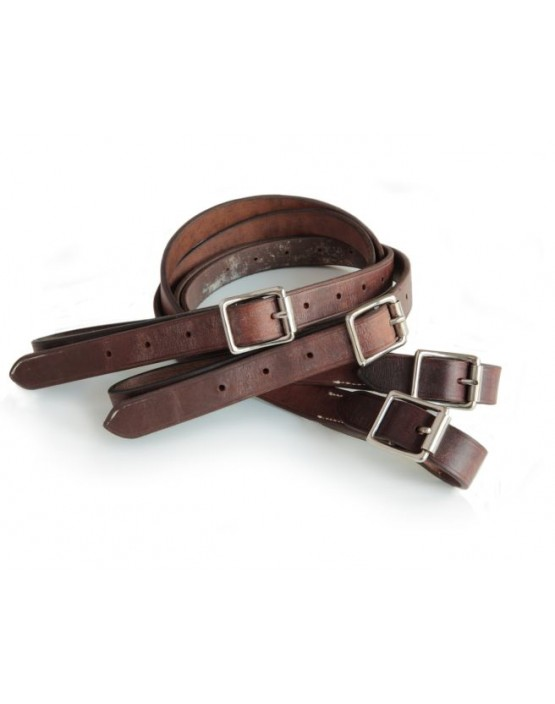 EJ Wicks Leather Side Reins